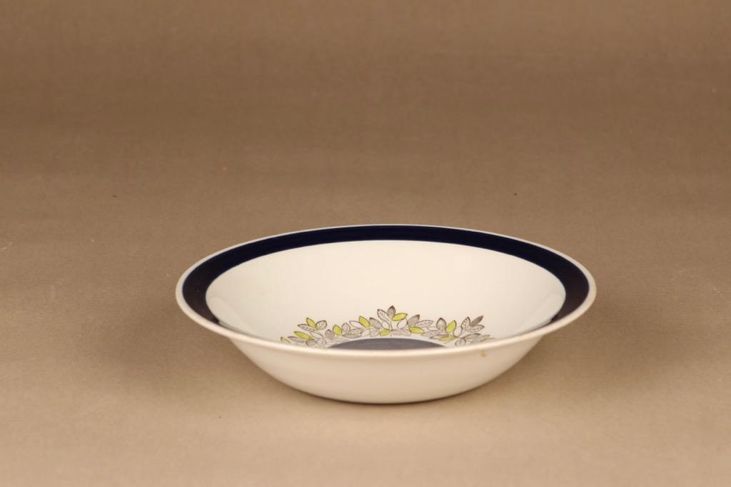 Rörstrand Viktoria soup plate, hand-painted designed Christina Campbell