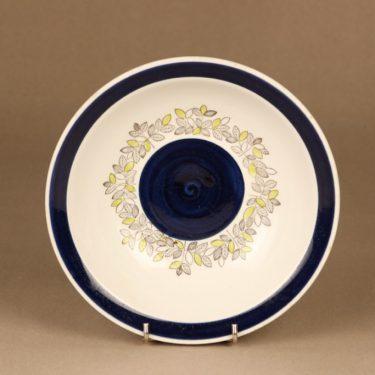 Rörstrand Viktoria soup plate, hand-painted designed Christina Campbell 2