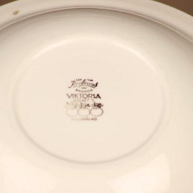 Rörstrand Viktoria lautanen, syvä, suunnittelija Christina Campbell, syvä kuva 3