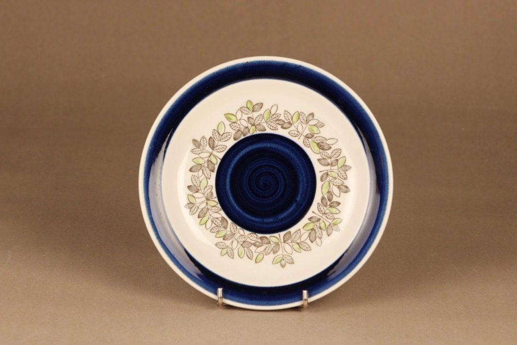 Rörstrand Viktoria lautanen, pieni, suunnittelija Christina Campbell, pieni