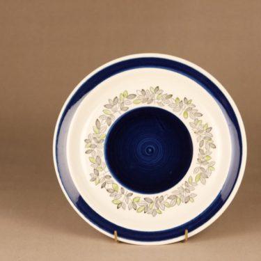 Rörstrand Viktoria dinner plate, hand-painted designer Christina Campbell