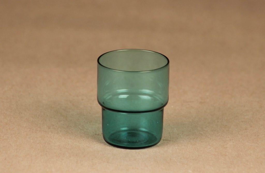 Nuutajärvi Stackable glass schnapps glass designer Saara Hopea