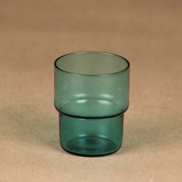 Nuutajärvi Stackable glass schnapps glass designer Saara Hopea