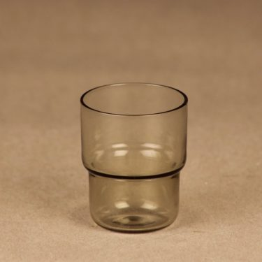 Nuutajärvi stackable schnapps glass gray designer Saara Hopea, 3 cl