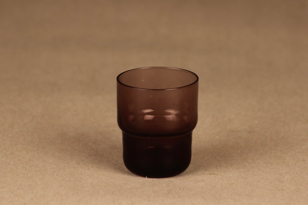 Nuutajärvi stackable schnapps glass lilac designer Saara Hopea, 3 cl