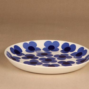 Arabia Aurinko tarjoilulautanen, sininen, suunnittelija Esteri Tomula, serikuva kuva 2