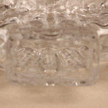 Riihimäen lasi Corona Taide-esine, signeerattu, suunnittelija Helena Tynell, signeerattu, kristalli kuva 3