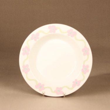Arabia Villiruusu soup plate designer Laila Hakala