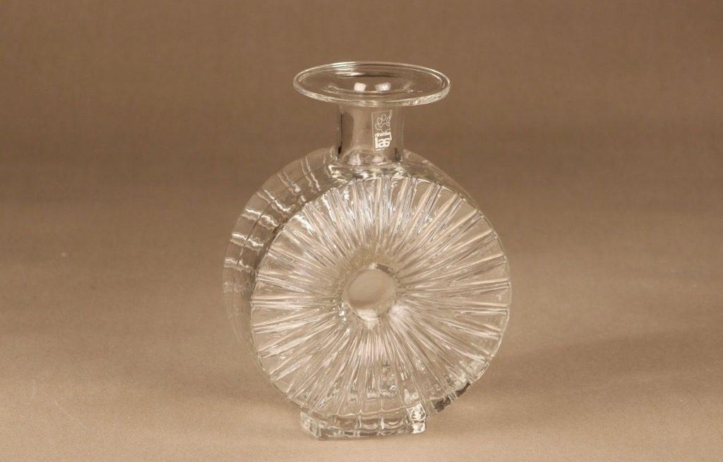 Riihimäen lasi Aurinkopullo clear size 2/4 designer Helena Tynell
