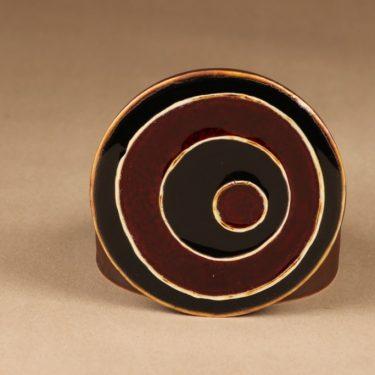 Arabia Ornamentti rasia, käsinmaalattu, suunnittelija Annikki Hovisaari, käsinmaalattu, signeerattu kuva 2