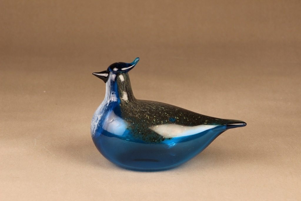 Nuutajärvi bird Blue Jay designer Oiva Toikka