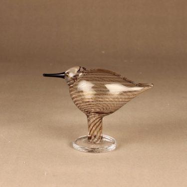 Nuutajärvi bird Ringedplover designer Oiva Toikka
