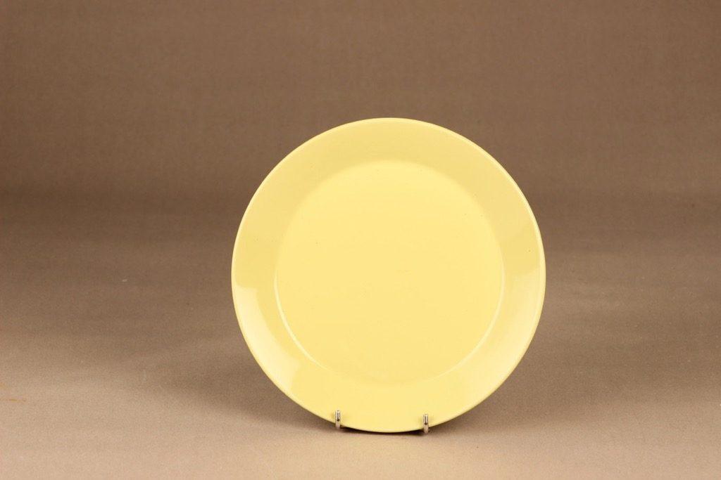 Arabia Kilta salad plate yellow designer Kaj Franck