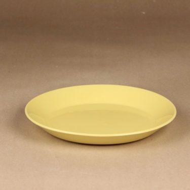 Arabia Kilta salad plate yellow designer Kaj Franck 2