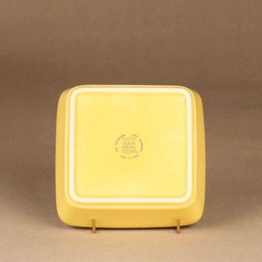 Arabia Teema tarjoiluvati, pieni, suunnittelija Kaj Franck, pieni, nelikulmainen kuva 3