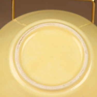 Arabia Kilta breakfast bowl yellow designer Kaj Franck 2