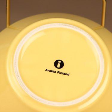 Arabia Teema aamiaiskulho, keltainen, suunnittelija Kaj Franck,  kuva 2