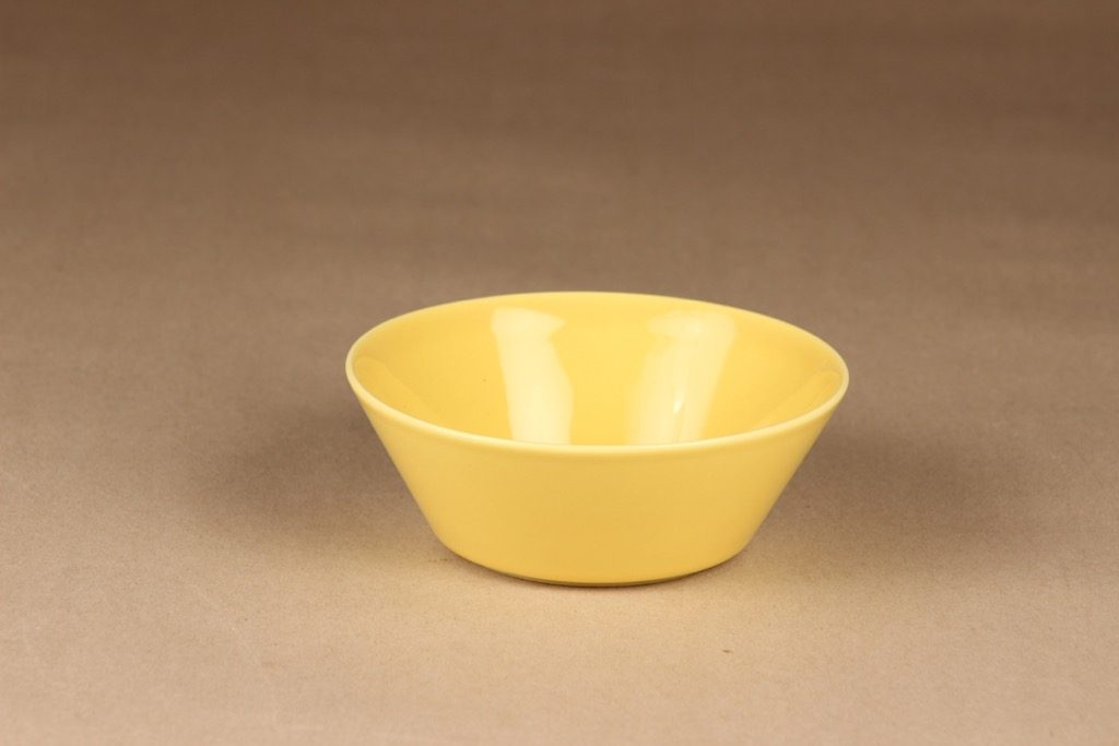 Arabia Teema breakfast bowl yellow designer Kaj Franck