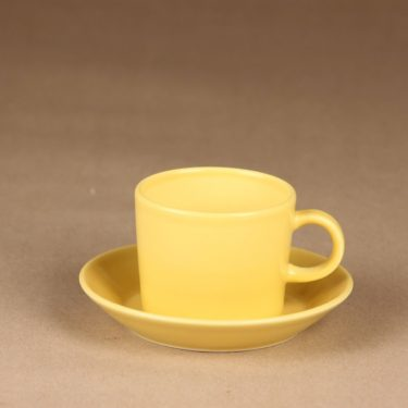 Arabia Teema coffee cup yellow designer Kaj Franck