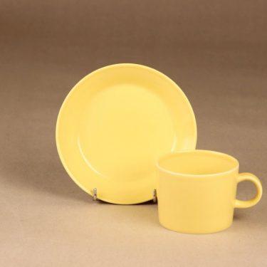Arabia Teema teekuppi, keltainen, suunnittelija Kaj Franck,  kuva 2
