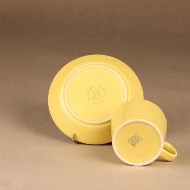 Arabia Teema teekuppi, keltainen, suunnittelija Kaj Franck,  kuva 3