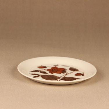 Arabia Tea for two lautanen, ruskea, suunnittelija Gunvor Olin-Grönqvist, serikuva kuva 2