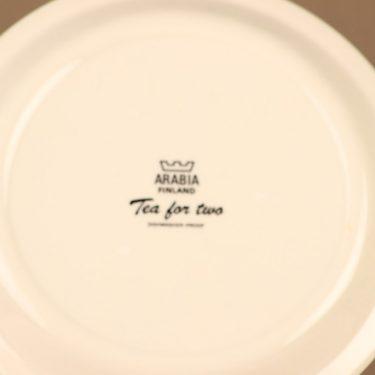 Arabia Tea for two lautanen, ruskea, suunnittelija Gunvor Olin-Grönqvist, serikuva kuva 3