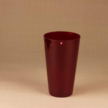 Nuutajärvi Kartio vase dark lilac designer Kaj Franck
