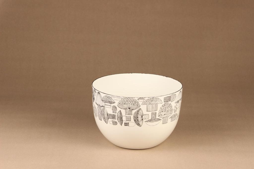 Finel Tatti bowl, B/W designer Esteri Tomula