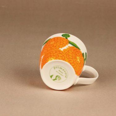 Iittala Primavera mug orange designer Maija Isola
