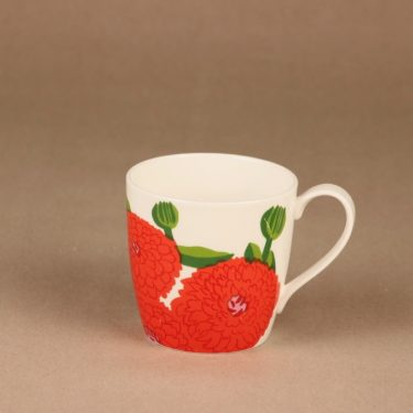 Iittala Primavera mug, strawberry red designer Maija Isola