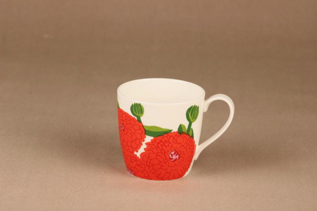 Iittala Primavera mug, strawberry red designer Maija Isola