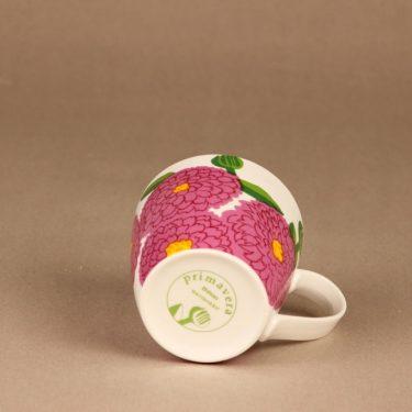 Iittala Primavera mug, raspberry red designer Maija Isola 2
