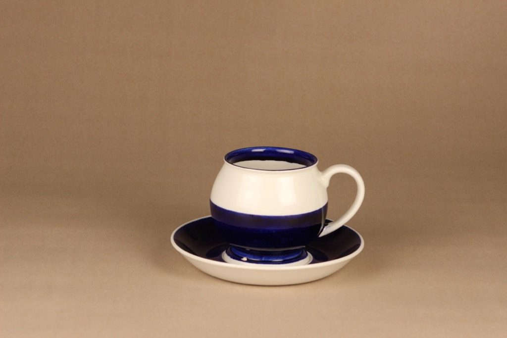 Arabia TH/5 cup and saucer, hand-painted designer Esteri Tomula