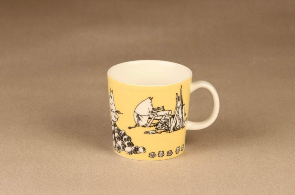 Arabia Moomin mug Yellow designer Tove Slotte-Elevant