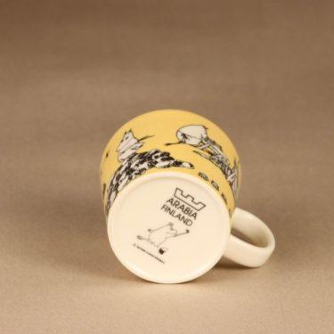 Arabia Moomin mug Yellow designer Tove Slotte-Elevant 4