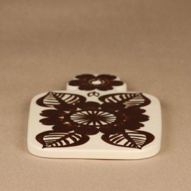 Arabia Köökki household plate, hand-plated, designer Gunvor Olin-Grönqvist, signed, chopping board, 3