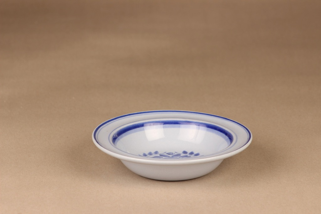 Arabia Blue Rose soup plate designer Svea Granlund