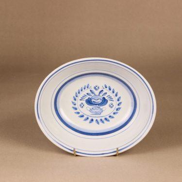 Arabia Blue Rose kulho, käsinmaalattu, suunnittelija Svea Granlund, käsinmaalattu, kukka-aihe kuva 2