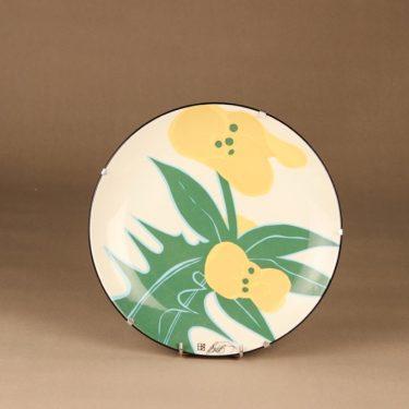 Arabia Floria seinälautanen, Julia, suunnittelija Howard Smith, Julia, kukka, serikuva