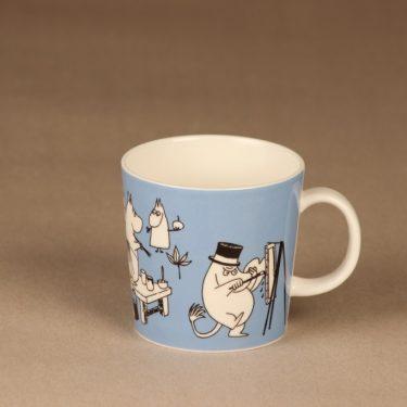 Arabia Muumi mug blue designer Tove Slotte-Elevant