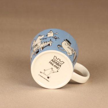 Arabia Muumi mug blue designer Tove Slotte-Elevant 4
