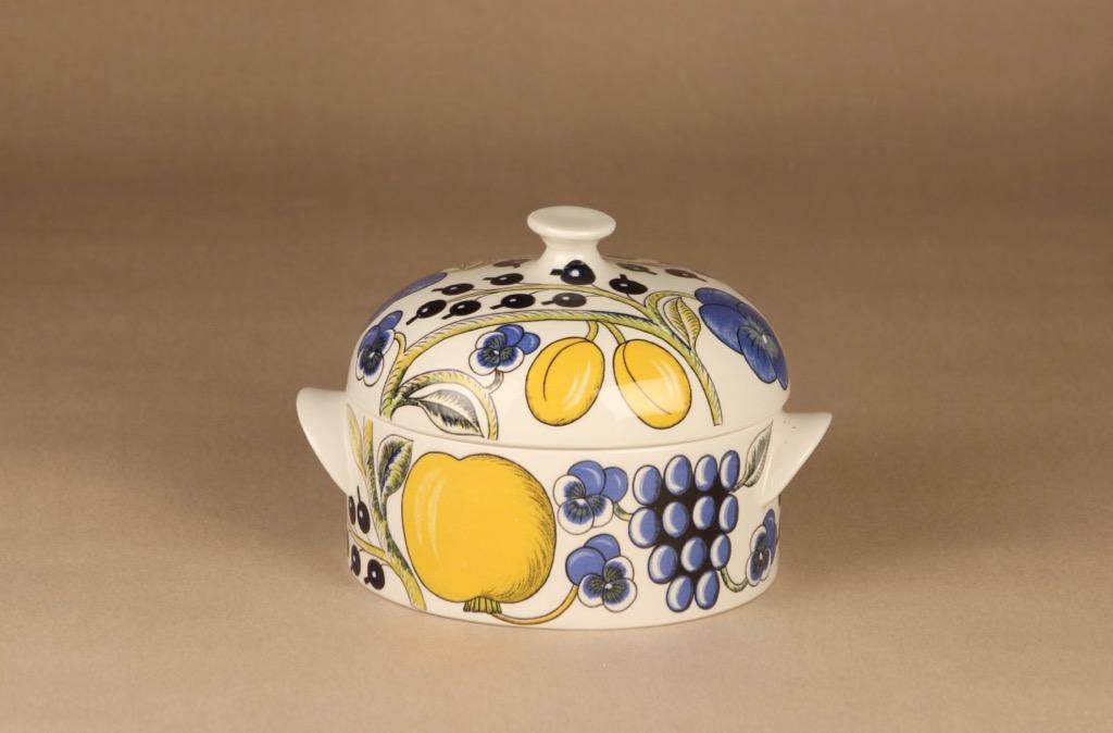 Arabia Paratiisi bowl with lid designer Birger Kaipiainen