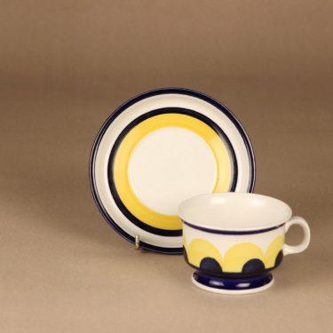 Arabia Paju teekuppi, käsinmaalattu, suunnittelija Anja Jaatinen-Winquist, käsinmaalattu, signeerattu kuva 2