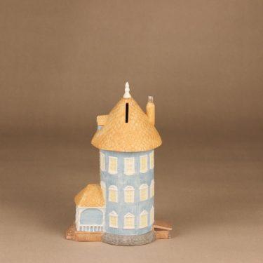 Arabia Moomin house, hand-painted 3