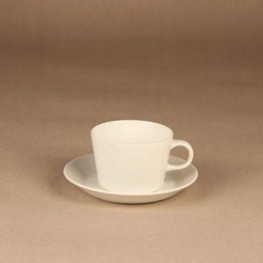 Arabia Kilta tea cup, white, designer Kaj Franck