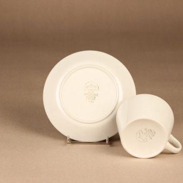 Arabia Kilta teekuppi, valkoinen, suunnittelija Kaj Franck,  kuva 2