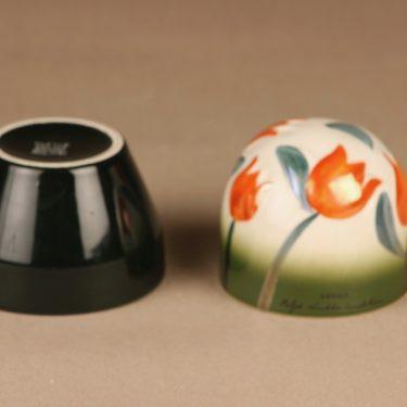 Arabia ikikukka, bellflower, designer Heljä Liukko-Sundström, hand-painted