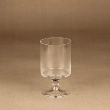 Iittala Karelia red wine glass 15 cl designer Tapio Wirkkala