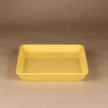 Arabia Teema platter, yellow, designer Kaj Franck, 2